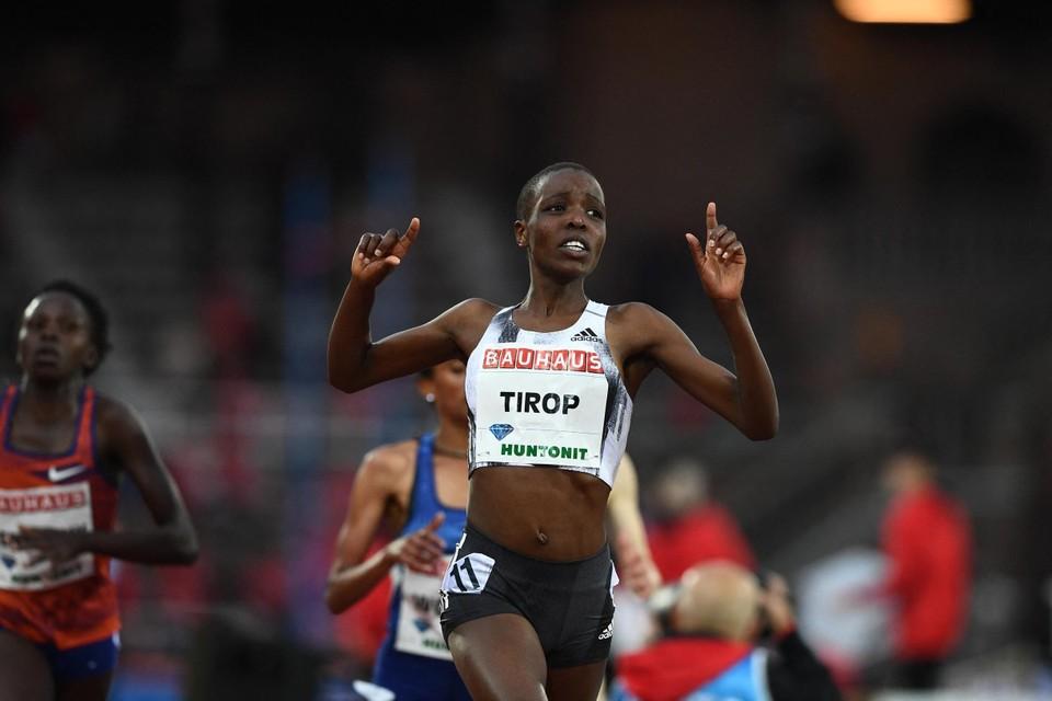 Tragisch nieuws uit de atletiekwereld: toploopster Agnes Tirop is niet meer.