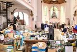thumbnail: De kerk in Trooz fungeert als centraal verdeelpunt.