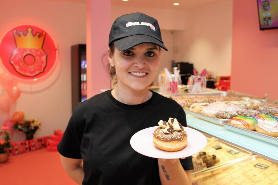 De donut Liers Vlaaike kost 5,50 euro.