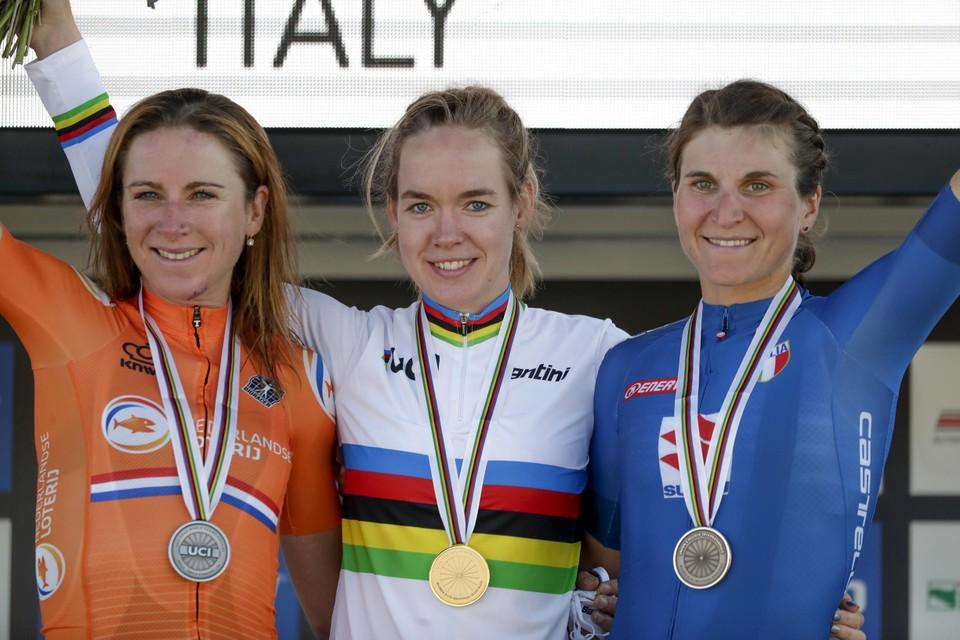 In 2020 haalde Anna van der Breggen het voor Annemiek van Vleuten en Elisa Longo Borghini.