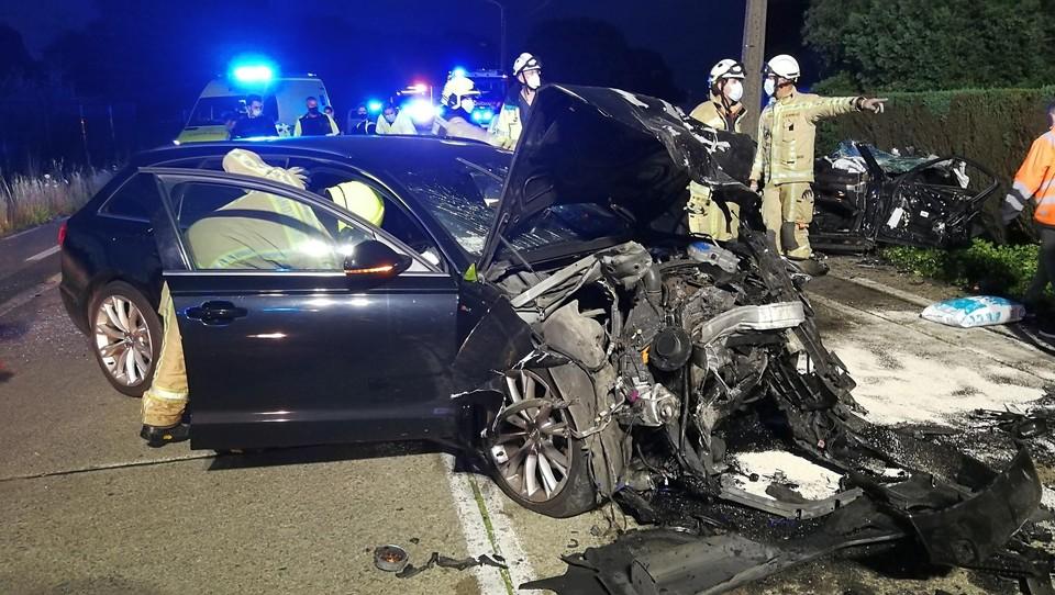 De auto die uit Herentals kwam, zou net voor de botsing over de weg hebben gezwalpt.