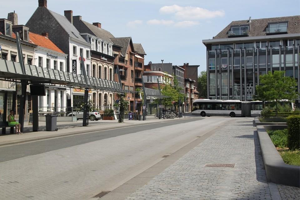 De Grote Markt in Turnhout.