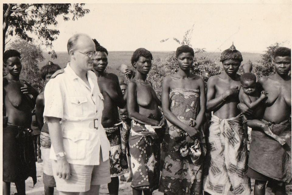 Een beeld uit de koloniale periode van ons land.