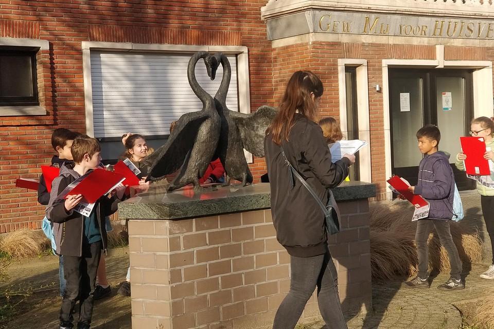 De route werd al uitvoerig getest door plaatselijke scholen.