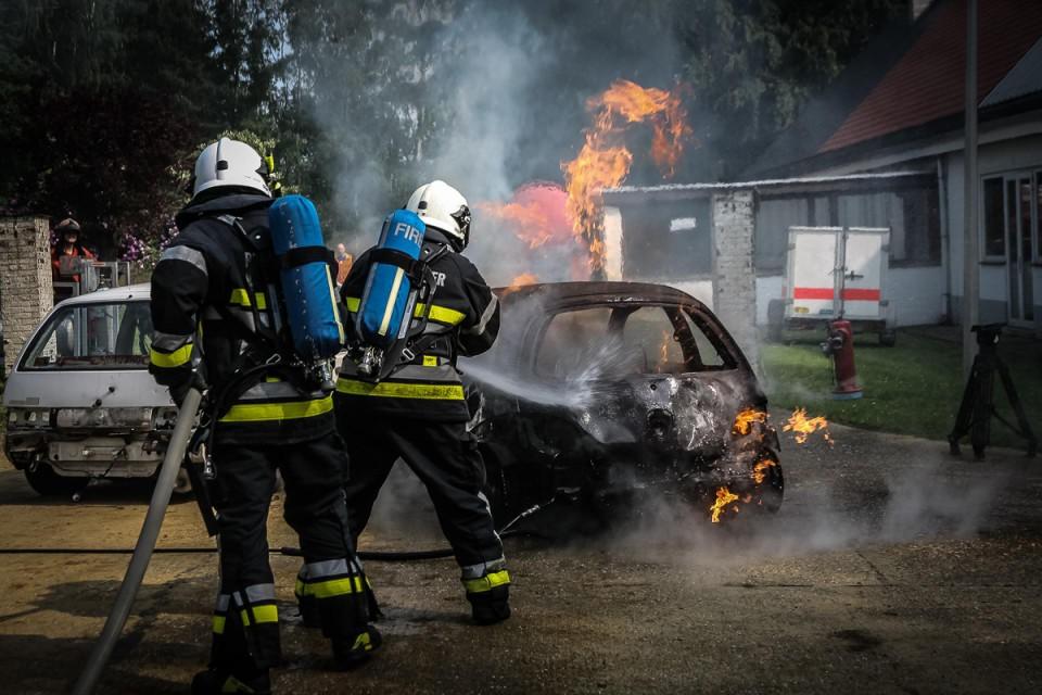 Op Campus Vesta gebeuren veel oefeningen van de brandweer.