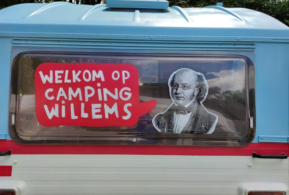 De caravan van het Willemsfonds zal heel Vlaanderen doorkruisen.