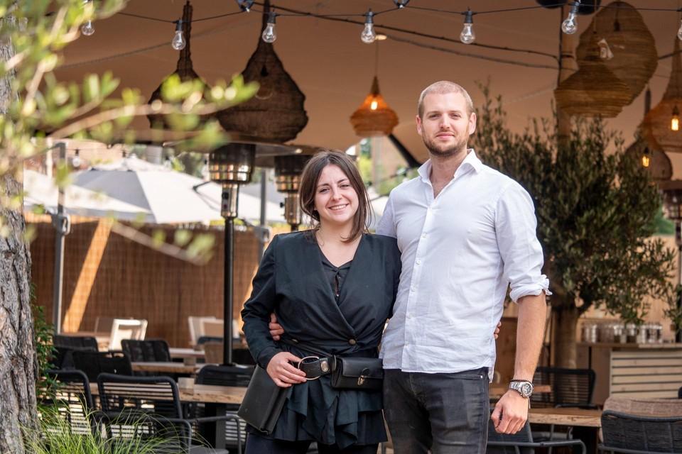 Iris Geudens en Olivier Asselbergs van Bar Bogaere in Zandhoven.