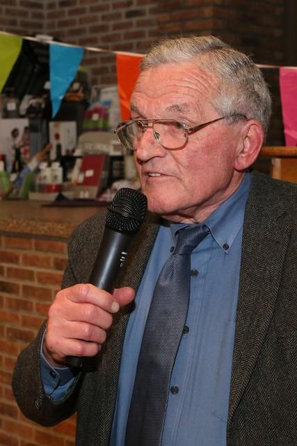 Raymond Tibax in 2017.
