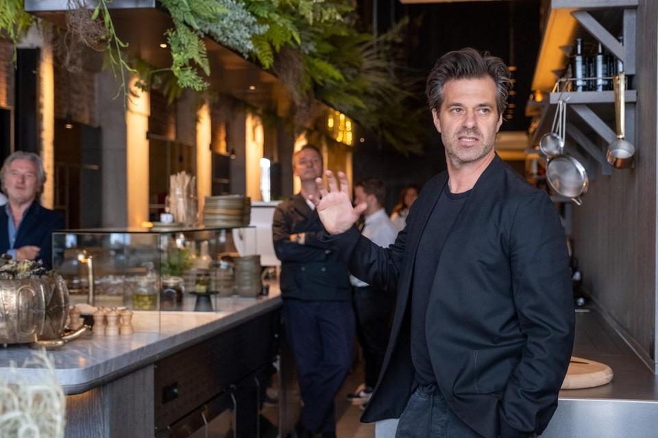 Sergio Herman bij de opening van Le Pristine in juli 2020.
