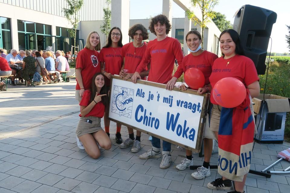 De enthousiaste bende van Chiro Woka maakte radio voor het Brieleke en wierf vijftien nieuwe leden.