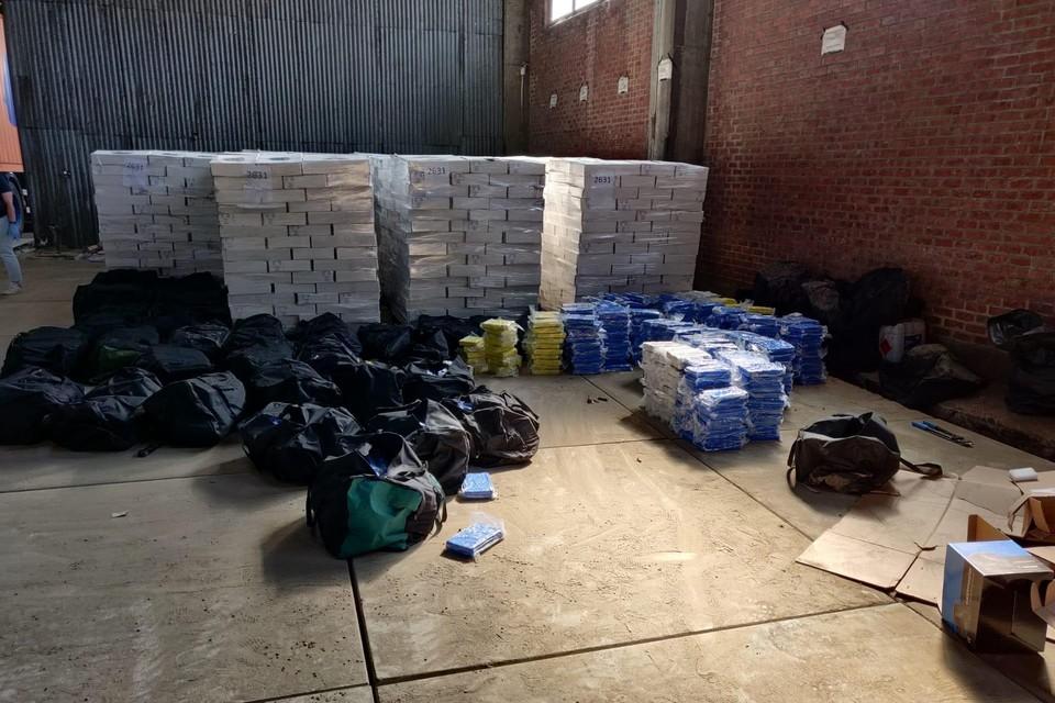 4,2 ton cocaïne zat in een container met bevroren inktvis.
