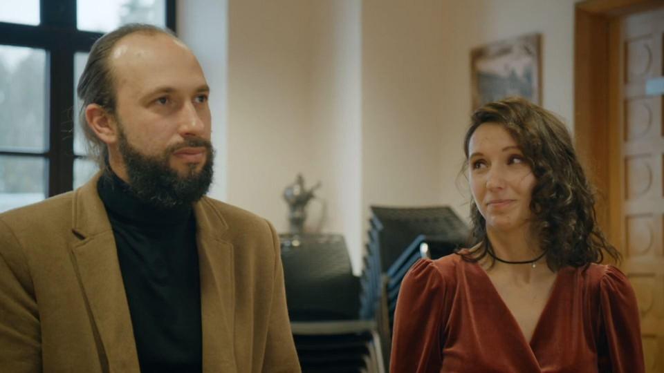 Francesco en Magali waren al symbolisch getrouwd. Nu is het ook officieel.