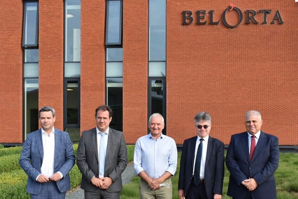BelOrta kreeg de Belgische en Maltese minister op werkbezoek.