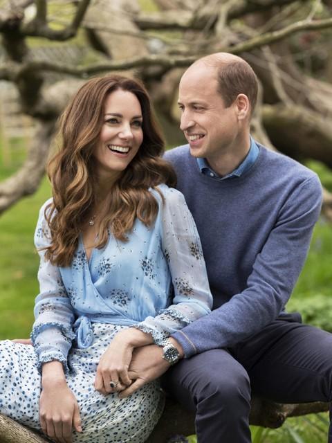 Met deze foto's vieren William en Kate hun tiende huwelijksverjaardag.