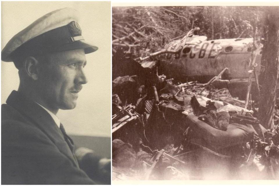 Op 13 mei 1948 crashte een DC-4 van Sabena in de brousse van toenmalig Belgisch-Congo. Aan boord zat één Antwerpenaar, kapitein Hubert Libert