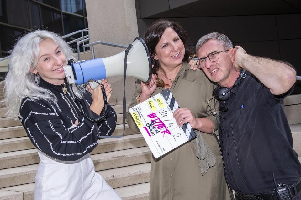 Een echt familieproject, met Anna Verheyen, Lien Willaert en Jan Verheyen.