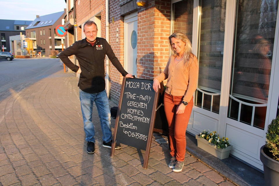 Mocca d'or, het eethuis van Sven Embrechts en Lindsey Peeters, richt zich straks vooral op klanten die willen tafelen, uit solidariteit met de café-uitbaters.