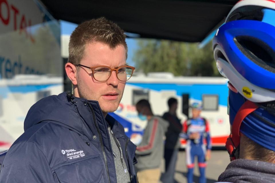 """Jens Van Beylen: """"Via Dries Van Gestel, die ik al een tijd begeleid, ben ik met Total Direct Energie in contact gekomen."""""""