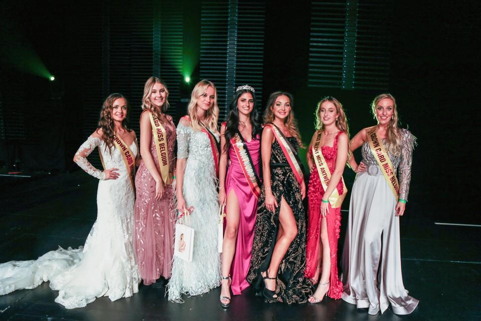 De Miss Antwerpen-kandidaten.