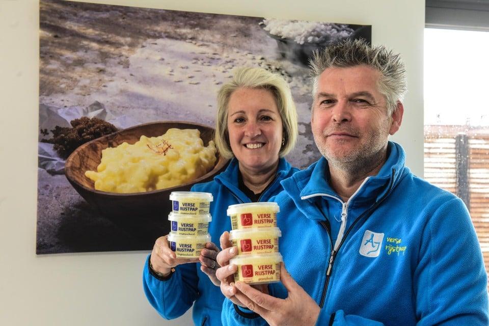 Jo Adriaenssens en Guy Schrauwen werken met topingrediënten, zoals dagverse melk van een boerderij uit Merksplas en echte saffraan.