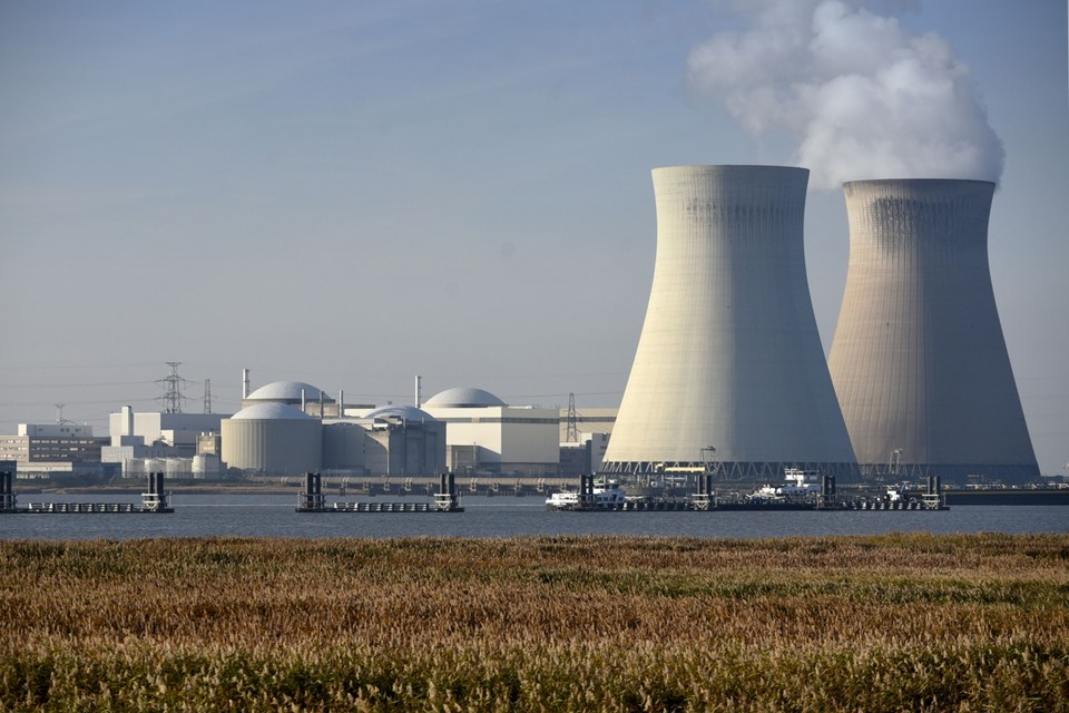 De kerncentrale van Doel