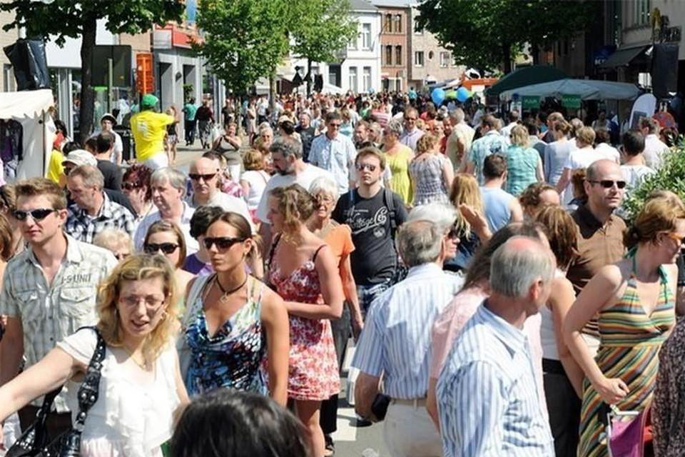 Archiefbeeld: de jaarmarkt in Nijlen.