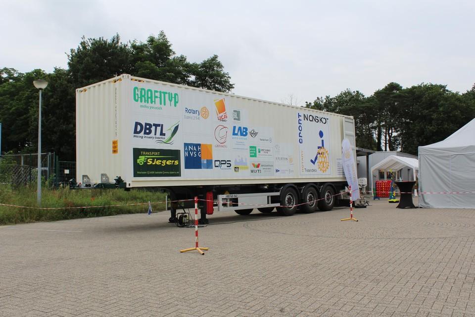 De container van Rotary Tessenderlo.