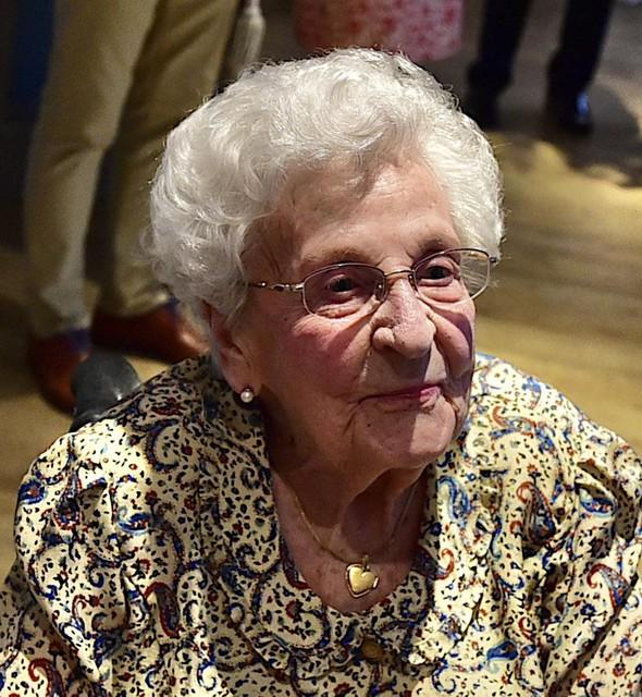 Maria is nog een kranige 100-jarige.