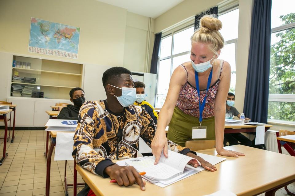 Op het Stedelijk Lyceum Olympiade op het Kiel startte deze week de Summer Academy, de zomerschool van Teach for Belgium.