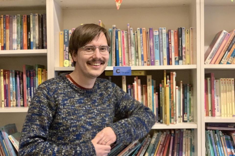 Meester Hannes van De Mozaïek krijgt een eervolle vermelding als boekenmeester.