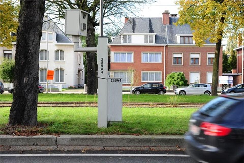 Op de Jan Van Rijswijcklaan werd vorig jaar maar liefst 25.500 keer geflitst.