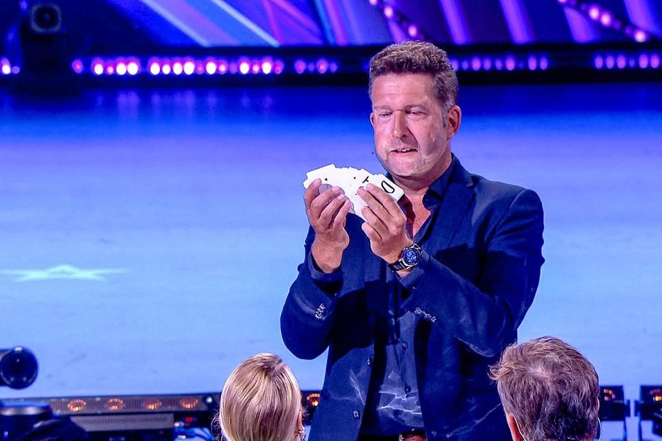 Guinelli in actie in Belgium's Got Talent.