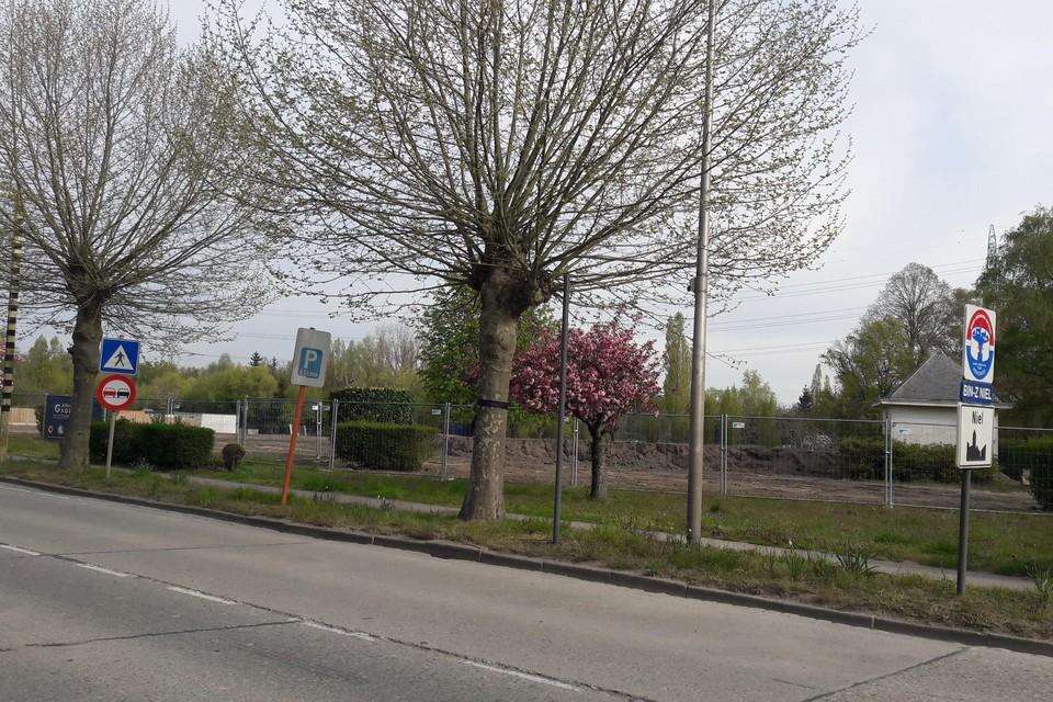 De Parkwijk in de Matenstraat vormt een toegangspoort tot Niel.