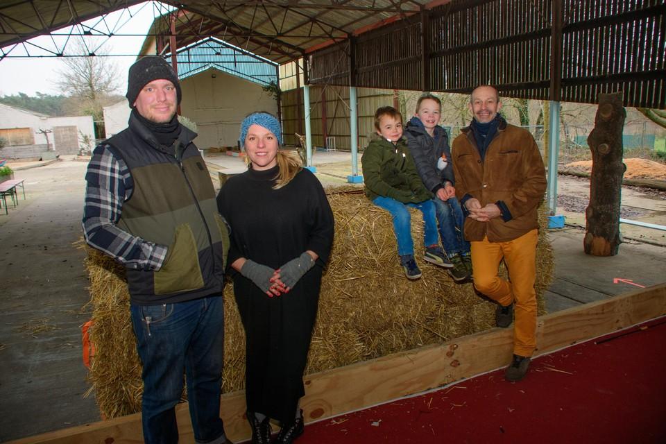Van links naar rechts: Geoffrey Lambert, Katrien Vanderbiets en Sven Bertels