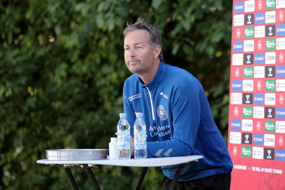 De Deense bondscoach Kasper Hjulmand sprak met Eriksen over Romelu Lukaku