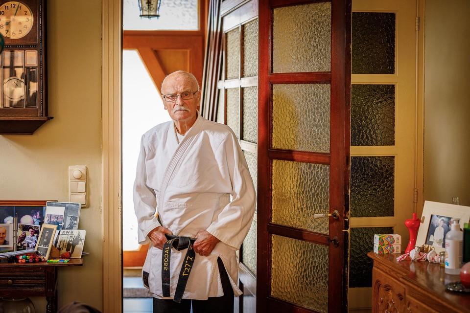 Frans Jacobs begon 62 jaar geleden met aikido.