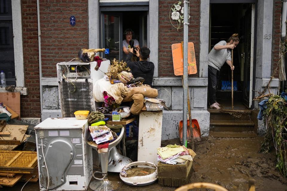 De burgemeester van Verviers maakt zich zwaar zorgen over de ongezonde omstandigheden waarin mensen nu in hun huis wonen