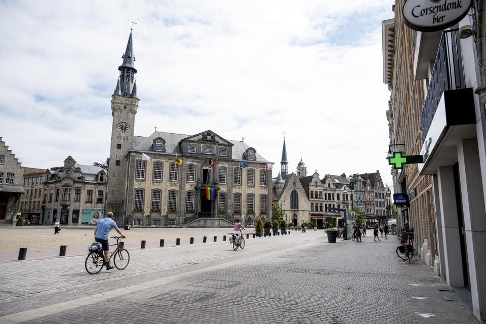 Het Lierse stadsbestuur krijgt meer vertrouwen van de inwoners