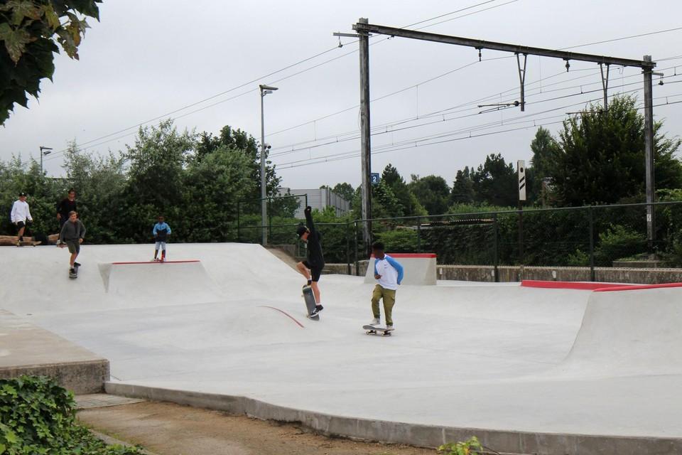 Skatetalenten verzamelen zich zaterdag aan de Molenlei.