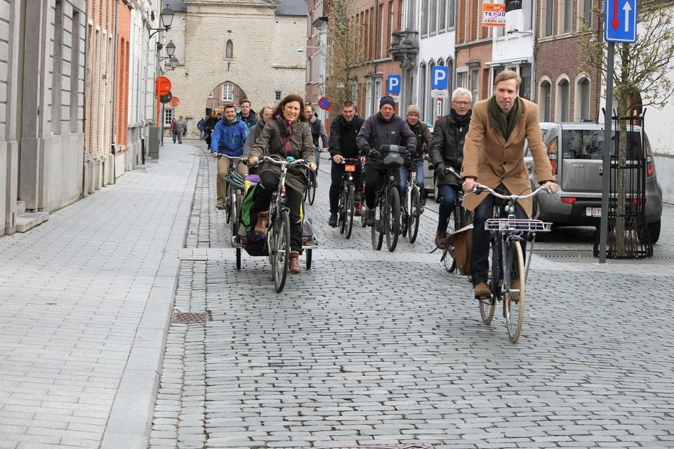 Momenteel heeft Lier enkele fietsstraten, zoals de Begijnhofstraat.