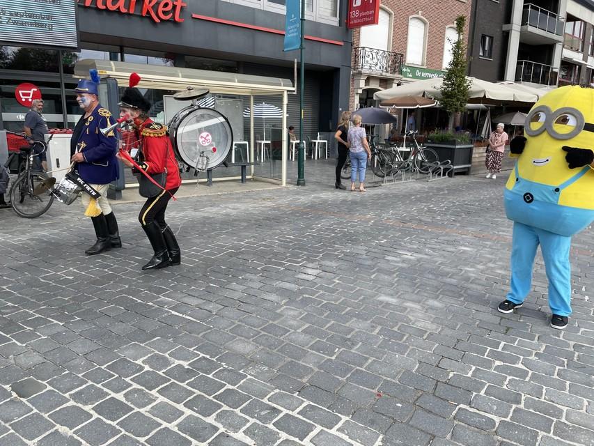 Het Bergstraatcomité mocht terug randanimatie laten aanrukken tijdens hun herfstfestival.