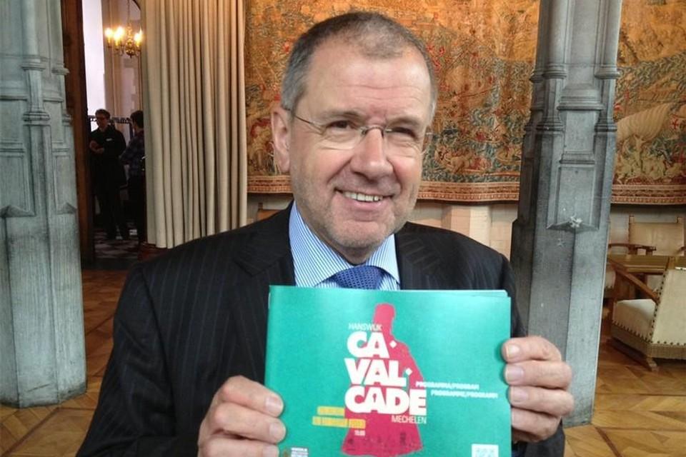 Guido Knops, hier bij de voorstelling van de Cavalcade, stopt na achttien jaar als voorzitter van de scholengemeenschap van het katholiek secundair onderwijs.
