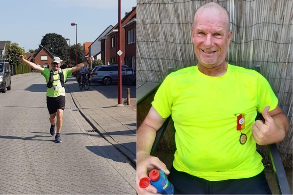Voldaan maar moe klokte Werner De Laet af op 814 kilometer.