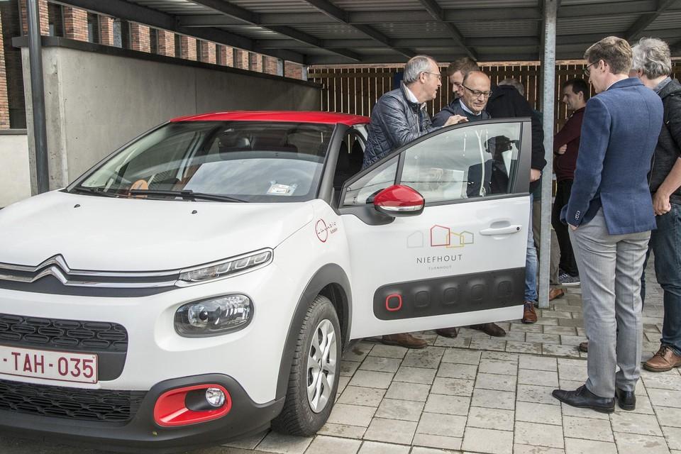 """In de nieuwe wijk Niefhout in Turnhout kwam er drie jaar geleden een vaste plaats voor een deelwagen. """"De wagen wordt veelvuldig gebruikt."""""""