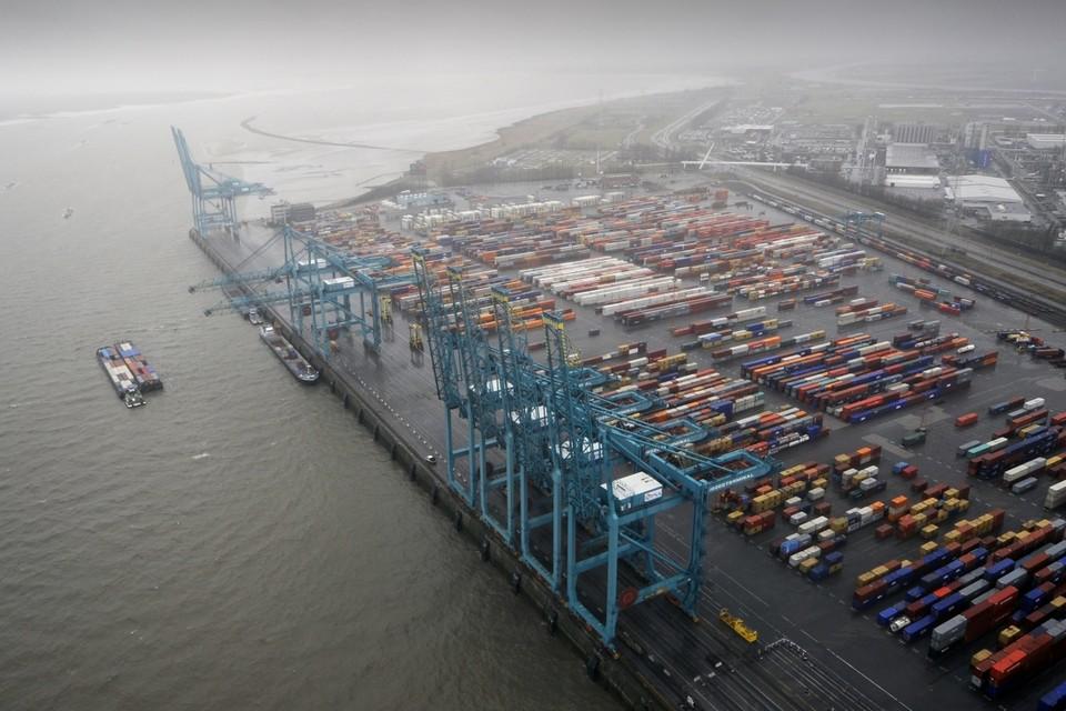 De impact van het wegblijven van containerschepen is momenteel moeilijk in te schatten.