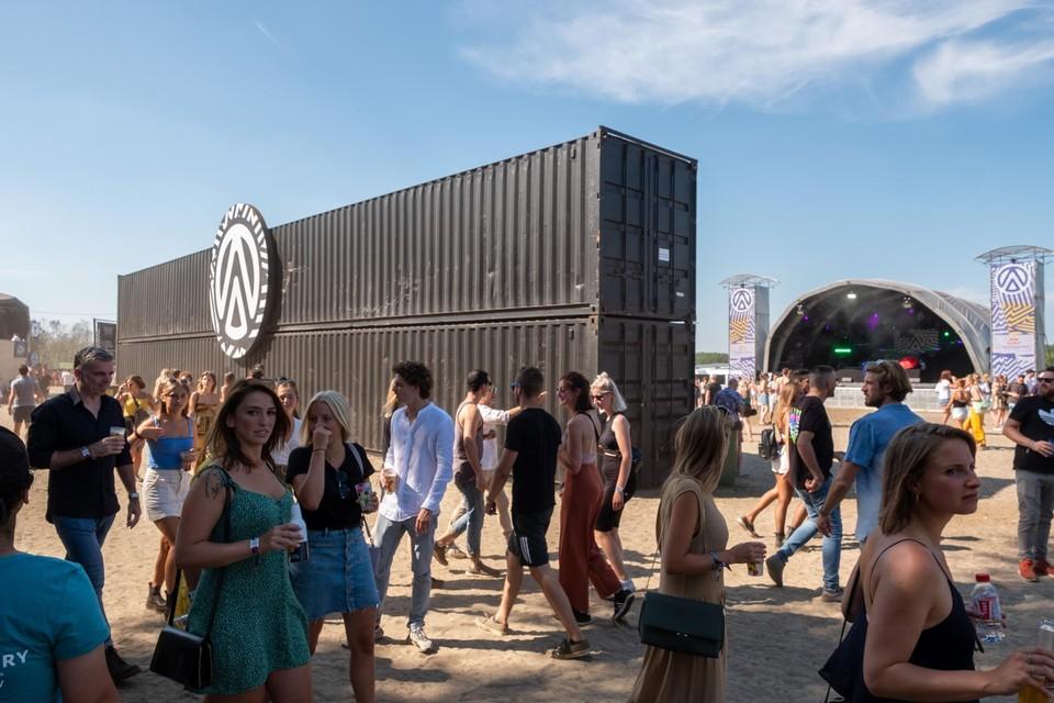 De eerste editie van festival Ampere Open Air, vorige zomer