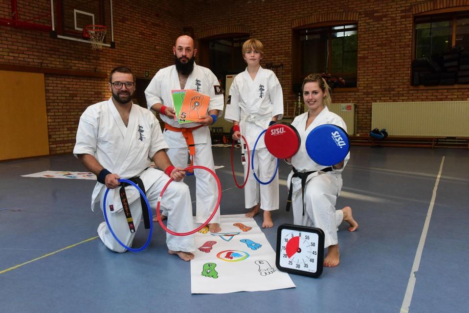 G-Kaido biedt karatelessen voor personen met een beperking of psychische kwetsbaarheid aan.