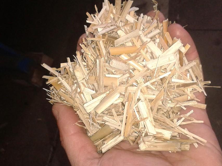 Bij aardbeien wordt 25% van het klassieke potgrondmengsel vervangen door houtvezel.