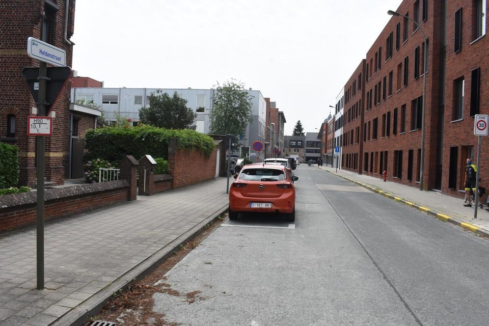 De Heldenstraat in Mol.
