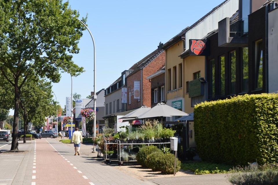 De middenstand op de Handelslei in Sint-Antonius.